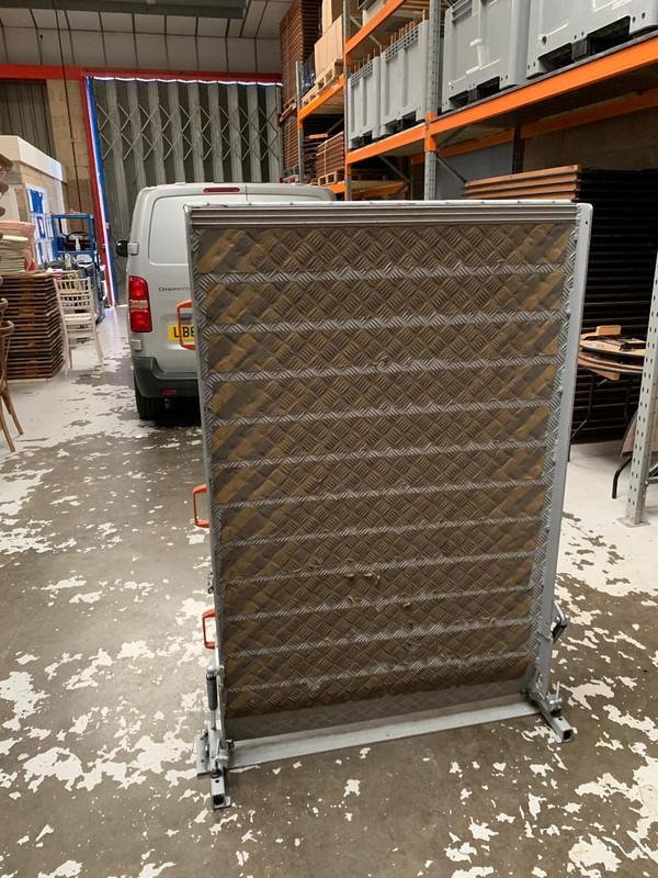 1m wide aluminium Van / truck ramp