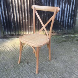 Cross Back Chairs Brand New