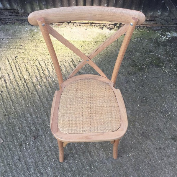 Cancelled Order Cross Back Chairs Brand New