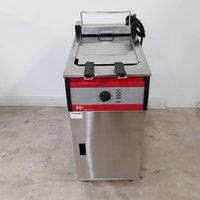 FriFri FFS41 Double Freestanding Fryer with Filter