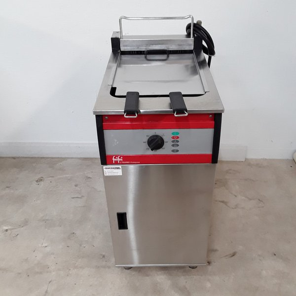 FriFri FFS41 Double Freestanding Fryer with Filter