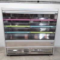 Large multi deck fridge on wheel