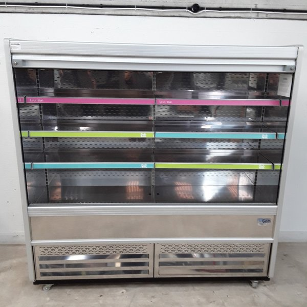 Large multi deck fridge on wheel
