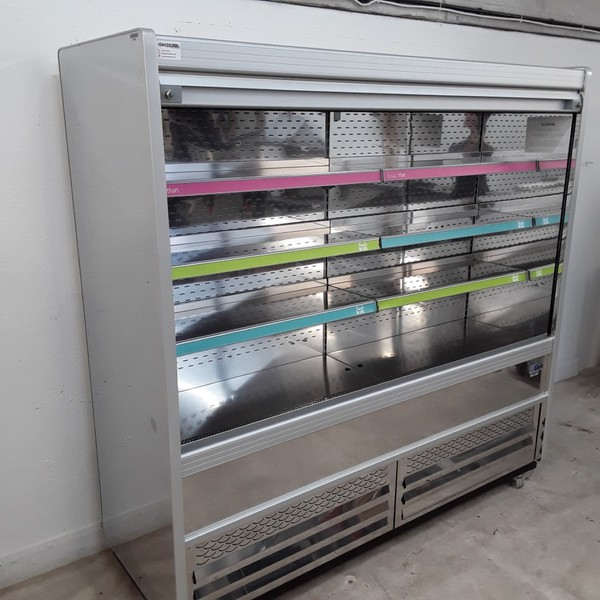 Stainless steel multi deck fridge