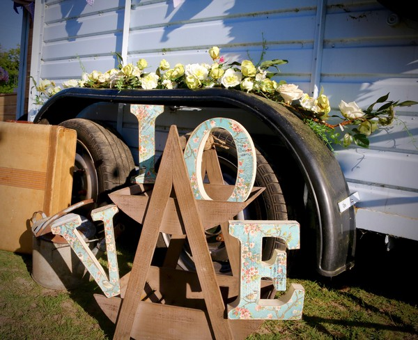 Rustic Love Wedding Sign