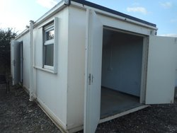 Site office / tool storage Jack Leg cabin