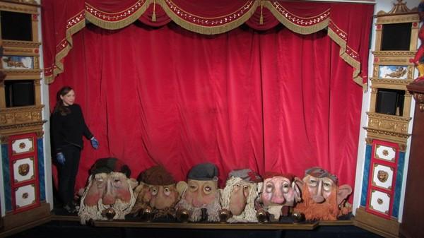 Vintage Theatrical Masks