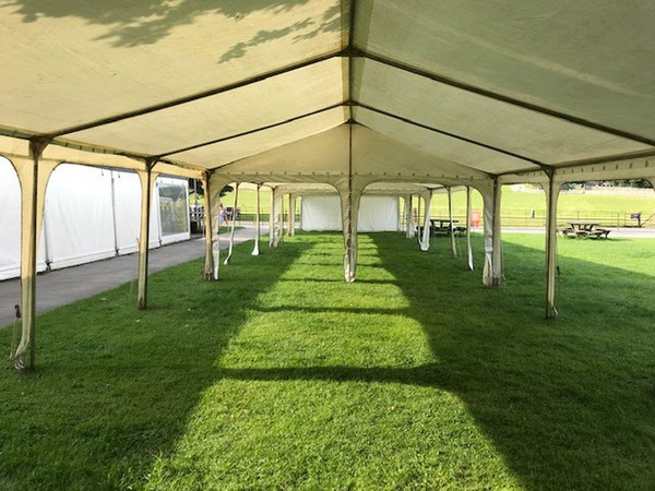 Complete Marquee Setup For Sale (5m x 35m) - Barnsley, West Yorkshire 1
