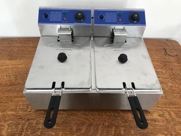 10L Double Commercial Fryer