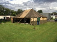 Ex Army Green Marquee for sale