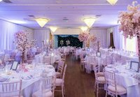 Pipe and drape venue decor