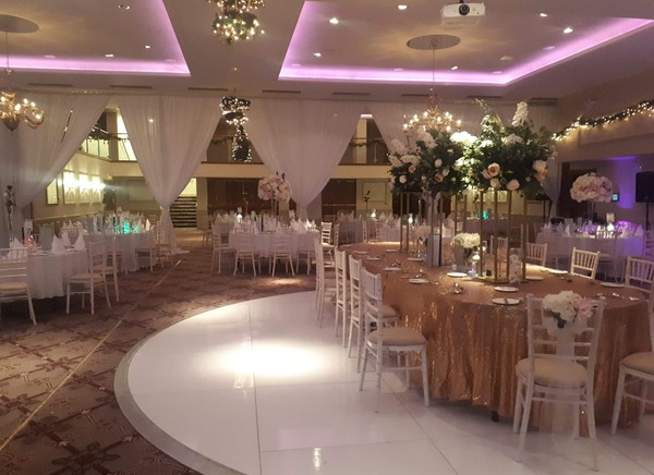 Venue decoration business.