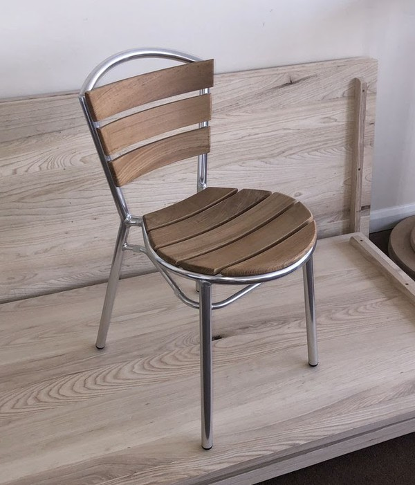 Brussels Chairs in teak