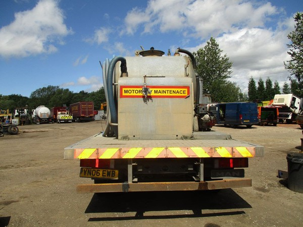 Vacuum Toilet Service Steel Tanker MOT till 31 January 2020