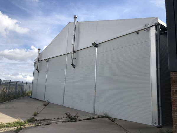Temporary building for sale