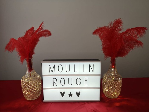 Burlesque Theme LED sign