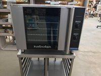 Blue Seal Turbofan Convection Oven E31D4 with Stainless Steel Stand