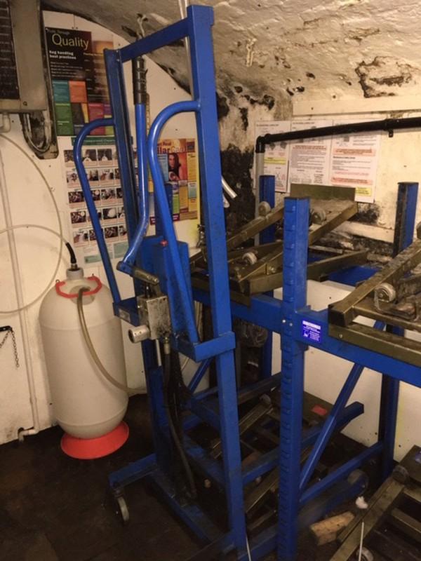Kayel Cellar Racking System & Lift - Oakthorpe, Derbyshire 8