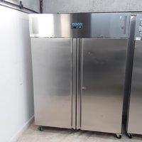 New B Grade Polar U634 Stainless Steel Double Upright Fridge (U9621)
