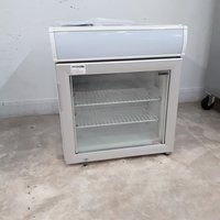 New B Grade Tefcold UF50GCP Single Door Display Freezer	(H9643)