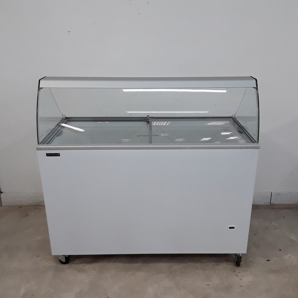New B Grade Tefcold ICP400SC Ice Cream Display Freezer (H9662)