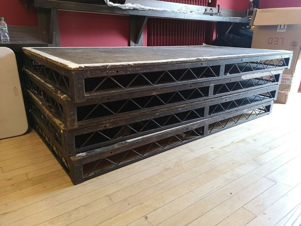 stage steel decks for sale