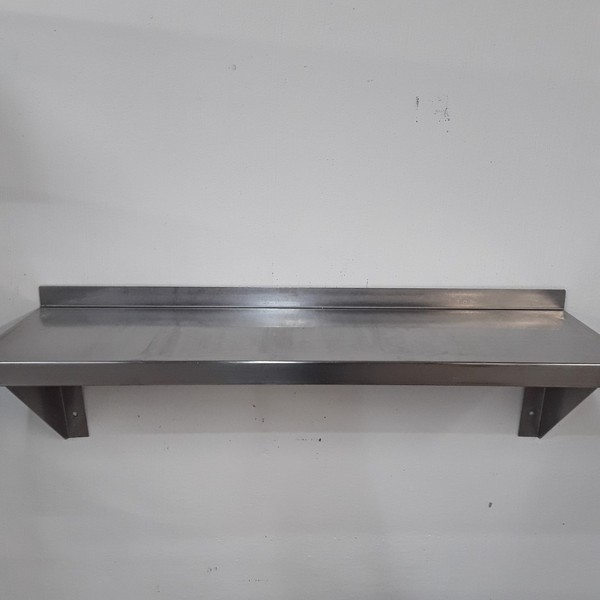 Used   Stainless Steel Wall Shelf(9675)