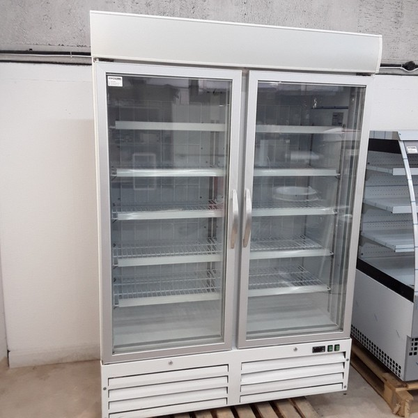 Used Husky HUS-F8-HT Double Freezer for sale