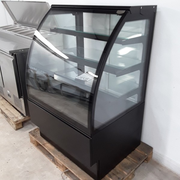 shop display counter heated