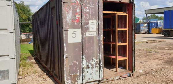 17x Storage Containers - Studley, Warwickshire