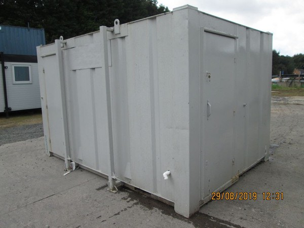 2 + 1 Toilet cabin for sale