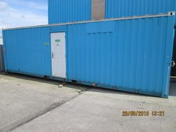 Portable office anti vadal cabin for sale