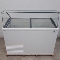 New B Grade Framec Slant 510 Ice Cream Display Freezer (9693) - Bridgwater, Somerset