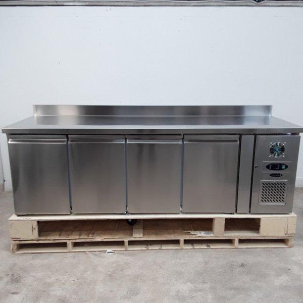New B Grade Tefcold CF7410 4 Door Bench Freezer(H9701)