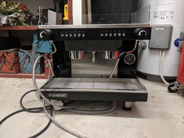 2 group espresso machine