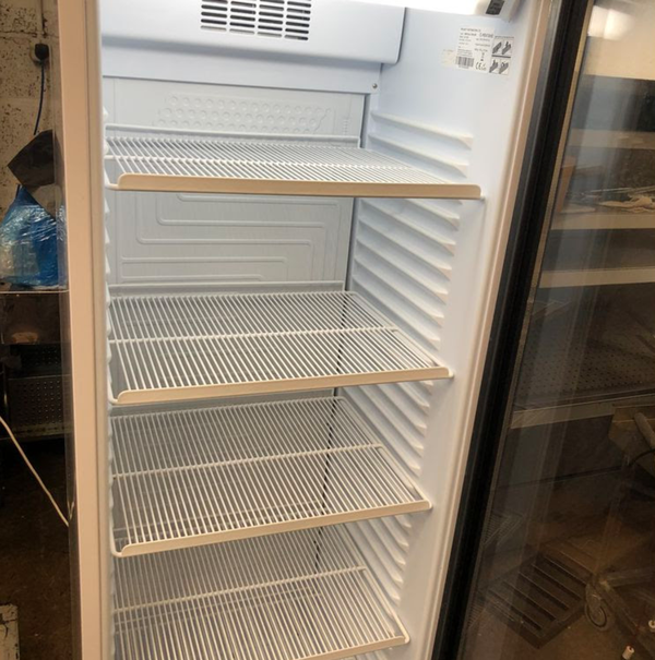 Used bottle fridge