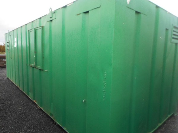 Anti Vandal Welfare Unit With Generator