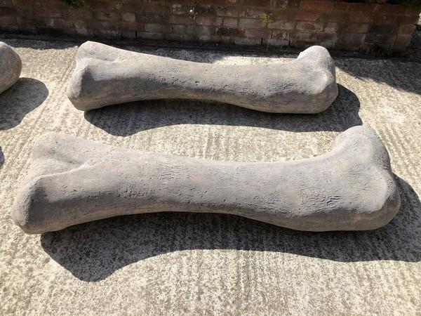 Flintstone bone prop