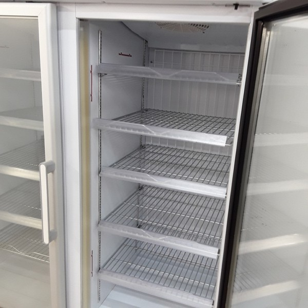 Tornado double display freezer for sale