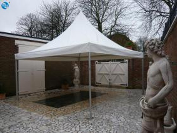 2x Hoecker 3m x 3m Pavilion Complete Marquee / Custom Covers Lining In Good Condition - Nottinghamshire