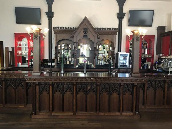 Stunning Gothic bar