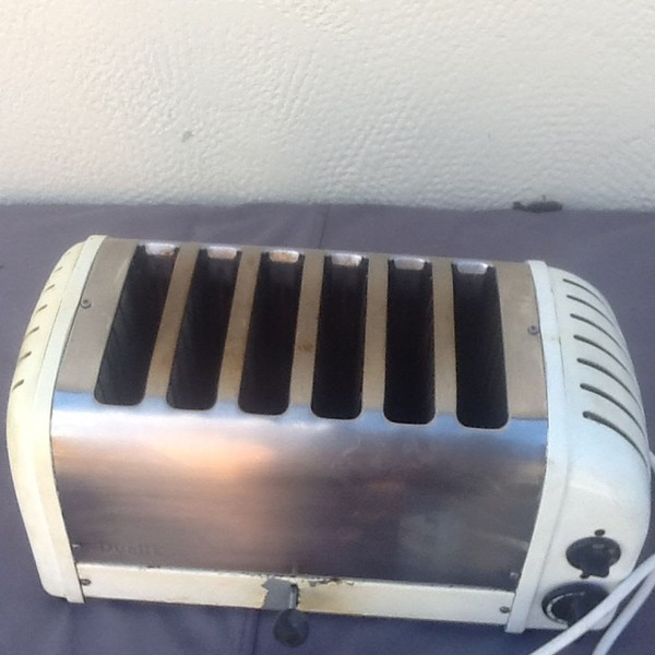dualit 6 slot toaster for sale