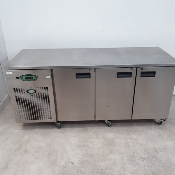 Used Foster EPRO1/3H 3 Door Bench Fridge (9763)