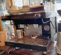 2 group coffee machine for sale