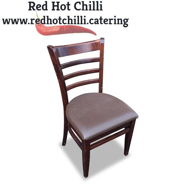 Darkwood Chairs x5 (Ref: RHC4099)
