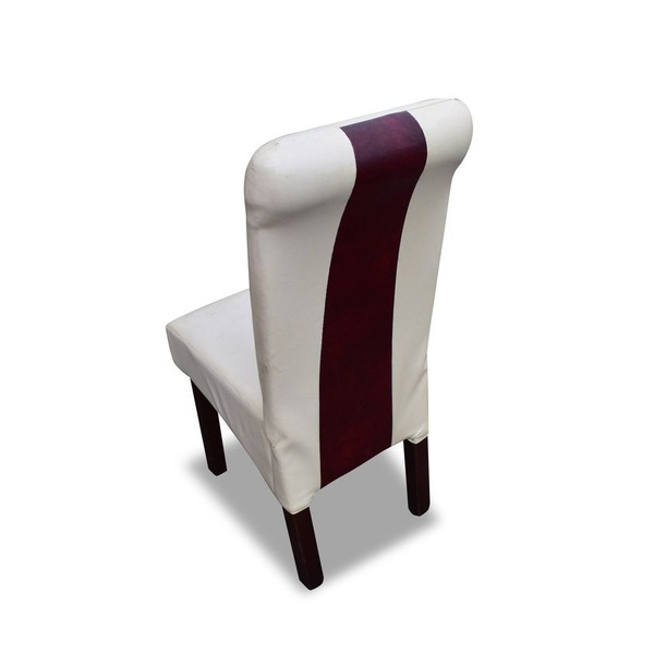 x60 White Leather Dining Chairs (Ref: RHC4100)