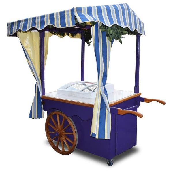 Used Ice Cream Trolley