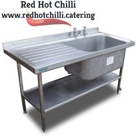 1.5m Stainless Steel Sink (Ref: RHC4182)