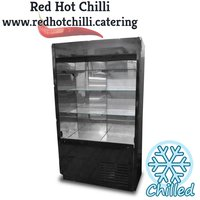 Black multideck fridge
