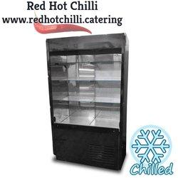 Black multideck fridge